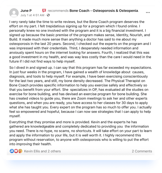 June P. Review