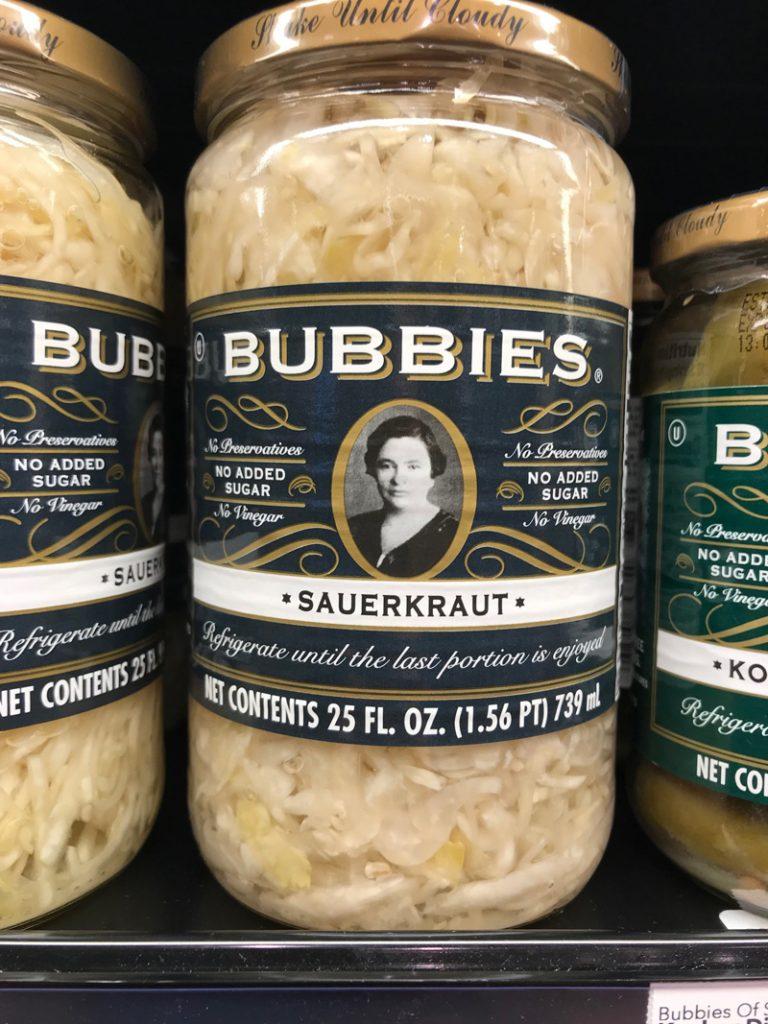 Bubbie's sauerkraut   Bone Coach