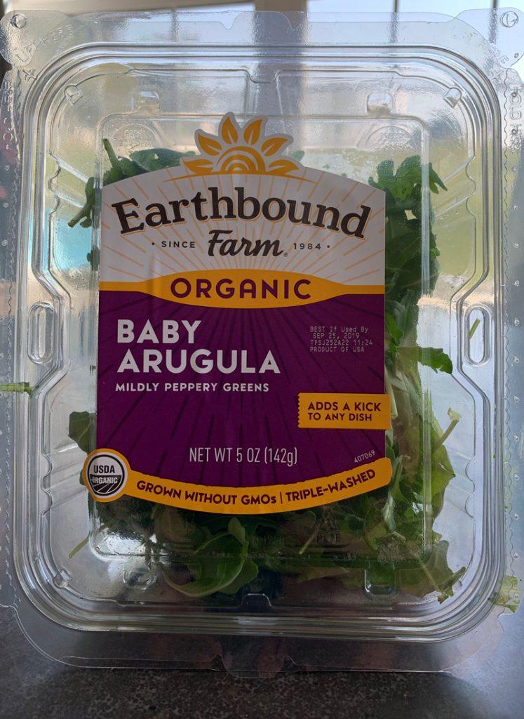Bone Coach   Earthbound Organic Arugula Bone-Healthy Salad