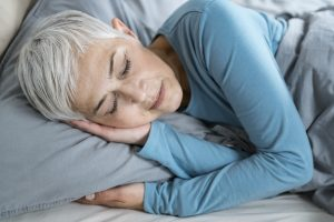 woman sleeping, sleep, stress management, osteoporosis, Bone Coach